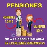 Podemos-Cieza: 'Hablar de pensiones y mujeres es, una vez más, hablar de desigualdad y discriminación'