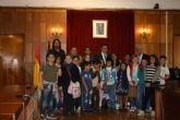 Alumnos de 5° del colegio El Mirador visitan los juzgados de Murcia