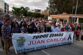 Más de 1.500 personas se solidarizan en una marcha pacífica con el archenero fallecido por apuñalamiento en Molina