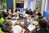 La Junta Local de Seguridad se reunió en Alcantarilla para tratar temas relacionados con el municipio, en estos momentos especialmente de Fiestas de Mayo