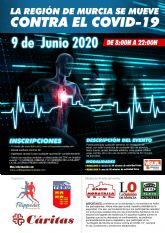 El 9 de junio, día de fiesta deportiva y solidaria en la Región de Murcia
