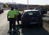 La Guardia Civil detiene a un joven por conducir un turismo duplicando la velocidad m�xima permitida