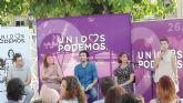 Unidos Podemos defiende que el gobierno de coalición de Molina es el espejo en el que debe mirarse el PSOE