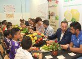 Fomentan el consumo de frutas y verduras entre los escolares en Puerto Lumbreras