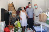 Los vecinos de El Mojón inician una campaña solidaria de recogida de alimentos destinados a Cáritas