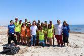 Los Campos de Trabajo desarrollan actividades medio ambientales en San Pedro del Pinatar
