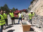 Refuerzan la seguridad vial en carreteras regionales que discurren por Caravaca y Moratalla