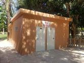 Finalizan las obras de remodelación de los aseos públicos del Parque de la Compañía de Molina de Segura