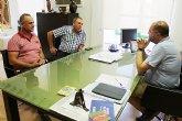El alcalde se reúne con organizaciones agrarias de Totana para conocer las necesidades y demandas generales del campo y la ganadería en el municipio