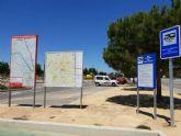 El aparcamiento de caravanas cuenta con nueva señalización turística