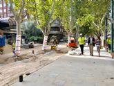 Avanzan las obras en el último tramo de Alfonso X, que reducirán el tráfico un 95%