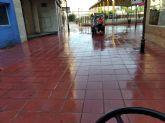El Ayuntamiento de Molina de Segura incrementa las tareas de limpieza y desinfección de las zonas del municipio más sensibles y de máxima afluencia