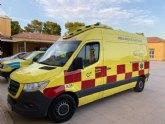 Totana cuenta desde el pasado fin de semana con una nueva ambulancia de traslados