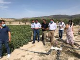 Una finca experimental en Yéchar reduce el uso de fertilizantes en la agricultura a través de microorganismos