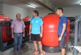 El Ayuntamiento de Puerto Lumbreras reutiliza el agua de las piscinas de verano para la limpieza de calles y riego de jardines