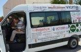 El alcalde agradece la inestimable colaboración a las 24 empresas totaneras que han contribuido a la adquisición del vehículo para el transporte de discapacitados de los centros de día