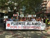 Los  empresarios de Fuente Álamo exigen mayores medidas de seguridad en el municipio