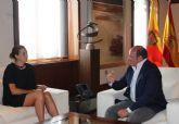 El presidente de la Comunidad se reúne con la alcaldesa de Archena