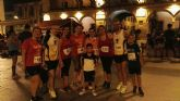 Miembros del Club Atletismo de Totana presentes en la I Lorca Running night