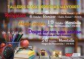 Talleres gratuitos para personas mayores en Moratalla y pedanías