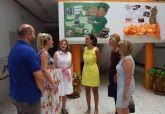 La directora general de Relaciones Laborales y Economía Social visita las obras de ampliación del colegio 'Susarte'