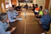 Las empresas de servicios del ayuntamiento se coordinan ante la llegada de la DANA