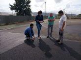 Se inicia la fase final de las obras de la pista de atletismo de Puerto Lumbreras