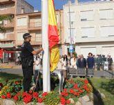 El Ayuntamiento celebra un homenaje a la Bandera Nacional con motivo del Día de la Hispanidad