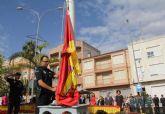 Puerto Lumbreras celebra un acto en homenaje a la Bandera Nacional