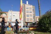 Puerto Lumbreras rinde homenaje a la bandera española