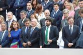 López Miras: 'Es el momento de que todos demos un paso adelante y defendamos la unidad y el futuro de España'