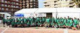 Más de 250 participantes recogen 1500 kilos de basura de los fondos marinos de la bahía de Mazarrón