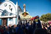 La Virgen del Milagro es acompañada por centenares de mazarroneros hasta la iglesia de San Andrés