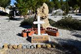 La comunidad brit�nica de Mazarr�n recuerda en el jard�n de la memoria de Camposol a sus militares fallecidos