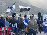 Los aficionados del F.C. Cartagena se reunieron en el Día del Peñista