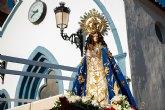 La Purísima Concepción de Bolnuevo es recibida en Mazarrón al inicio de la semana de las Fiestas del Milagro 2018