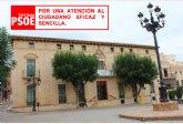 El PSOE solicita al ayuntamiento la creación de una cita previa online ante la imposibilidad de hacerlo por teléfono