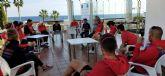 La selección española de paratriatlón se concentra en Mar de Pulpí con la vista centrada en los Juegos