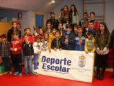 La Concejalía de Deportes y el Club de Ajedrez organizaron la Fase Local de Ajedrez de Deporte Escolar