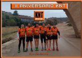 El Grupo Kasi Ná Trail, los 'KNT' , celebró su II aniversario