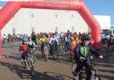 Más de 200 participantes en el Ciclopaseo de La Estación- Esparragal