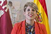 La consejera de Cultura y Portavocía, Noelia Arroyo, pregonará la Navidad en San Javier
