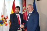 Fernando López Miras se reúne con el alcalde de Moratalla