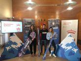 700 jóvenes pueden disfrutar de la nieve gracias al programa 'Murcia Bajo Cero'