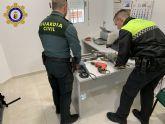 Detenido un vecino como presunto autor de robos en viviendas situadas en la zona rural de Calasparra