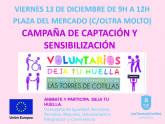 El Ayuntamiento desarrolla una campaña de sensibilización sobre el servicio municipal de voluntariado