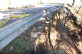 El Ayuntamiento vuelve a exigir a la Comunidad Aut�noma el arreglo urgente de la carretera de Gebas (RM-515)