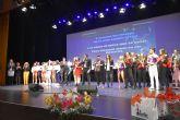 Repleto Teatro Villa de Archena ayer noche para presenciar la gala festiva de la Asociación del Comercio y Empresa de Archena ASEMAR