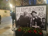 Murcia dedica un espacio privilegiado al Tío Juan Rita en la exposición fotográfica urbana organizada para conmemorar el Encuentro de Cuadrillas de Patiño