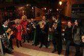 Cupido recorre las calles de Puerto Lumbreras para fomentar las compras en el municipio